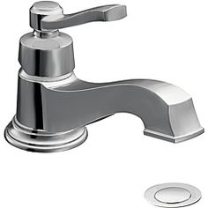 Best size and price at 239@Overstock - Moen S6202 Rothbury One-Handle Low Arc Chrome Bathroom Faucet  - This Moen Rothbury faucet offers a relaxed blend of vintage design and traditional elements that coordinates perfectly with both casual and luxurious decorating styles. This single lever faucet features a beautiful chrome finish.  http://www.overstock.com/Home-Garden/Moen-S6202-Rothbury-One-Handle-Low-Arc-Chrome-Bathroom-Faucet/6621978/product.html?CID=214117 Add to cart to see special…