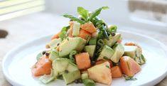 Papaja avocado salade met munt | Bye Bye Cheeseburger