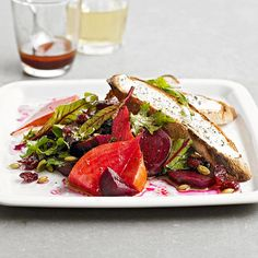 Beets and Greens Dinner Salad