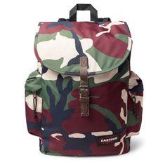 Austin Camouflage-Print Canvas Backpack - £50 from Eastpak at Mr Porter.