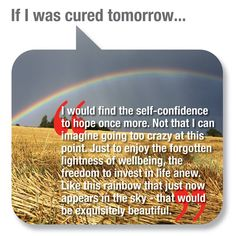 """People with ME/CFS answer the question: """"What would you do if you were cured tomorrow?""""  Upload your dream by clicking the link below: http://mecfsdocumentary.com/upload-your-dream/"""