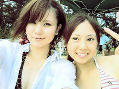 #shocolinJP 仲良し姉妹♪ しょこりんとあゆみっち(^o^)/ #jidori0722