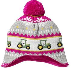 Another great find on John Deere Magenta Tractor Stripe Pom-Pom Beanie by John Deere John Deere Kids, John Deere Baby, Boys Winter Hats, Kids Hats, Ava Doll, Pink Tractor, Pink Stripes, Baby Boy Outfits, Magenta