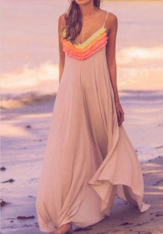 5f989ed1572 Stylish Sling Printed Beach Dress  AD7904