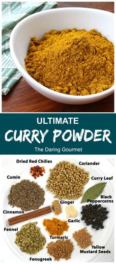 If youre looking for the ultimate curry powder look no further! The flavor and aroma of this curry blend is an absolute feast for the senses and hands down beats anything youll find at the store! Homemade Spice Blends, Homemade Spices, Homemade Seasonings, Spice Mixes, Indian Food Recipes, Dog Food Recipes, Cooking Recipes, Turkish Recipes, Chicken Recipes