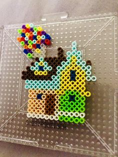 pearler beads The only thing I will ever make with mini perler beads Melt Beads Patterns, Easy Perler Bead Patterns, Perler Bead Templates, Pearler Bead Patterns, Beading Patterns, Peyote Patterns, Perler Beads Mario, Perler Bead Disney, Diy Perler Beads