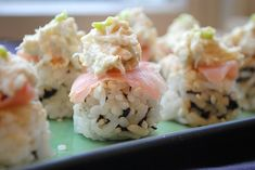 No-Roll Crab Sushi