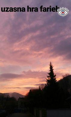sunrise in Trencianske Teplice.Slovakia
