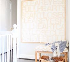 Turn a giant canvas into something fabulous for your wall.