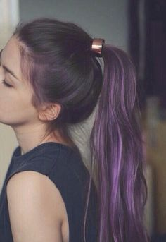 Image via We Heart It #clothes #fashion #girl #grunge #hair #pretty #purple #s #style #teenager #teenagergirl