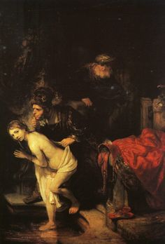 "artist-rembrandt:  ""Susanna and the Elders, 1647, Rembrandt Van Rijn  """