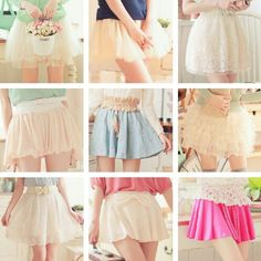 Ulzzang Style, Ulzzang Fashion, korean style, skirts.