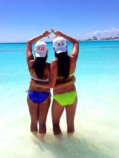 Chi Omega x Michigan State University - #chiomega #michiganstate #springbreak #springbreak2014 #sororitystylista
