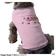 Doggie Ringer T-Shirt Pet Shirt