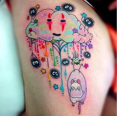 This Studio Ghibli Tattoo Is Trippy