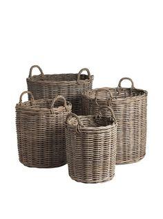 Napa Home And Garden Normandy 4 Piece Basket Set