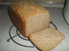 0038. celozrnný mňam chlebík od monikahor - recept pro domácí pekárnu Food And Drink, Cooking Recipes, Baking, Breads, Bakken, Bread, Backen, Recipes