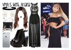 """""""VMA's with Ariana"""" by luni-salazar ❤ liked on Polyvore featuring Three Floor, Lime Crime, Miss Selfridge, Accessorize, Charlotte Russe and Wildfox"""