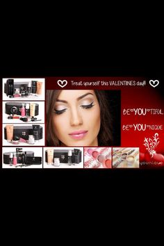 Valentines looks better with Younique.
