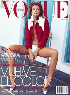 Eniko Mihalik for Vogue Mexico by Koray Birand