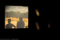 Bridesmaid Silhouettes, Window, Sunlight
