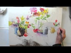 A Bunch of flowrs watercolor by Jan Pastor part 2