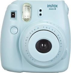 New Instax Fujifilm Mini 8 Lens Polaroid Style Instant Close Up Mirror BLUE  #Fujifilm