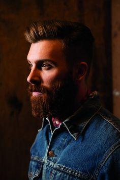 beardbrand:  Levi's F/W 2014 lookbook viafashionwear4men