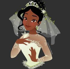 *TIANA ~ The Princess and the Frog, 2009<<< all credit goes to the artist