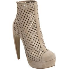perforated booties!