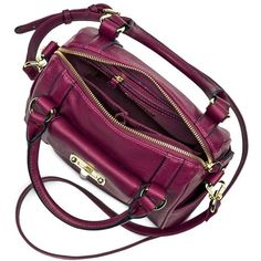 Women's Mini Satchel Faux Leather Handbag with Removable Crossbody... ($35) ❤ liked on Polyvore featuring bags, handbags, shoulder bags, man bag, satchel shoulder bag, satchel handbags, faux leather satchel and handbags purses