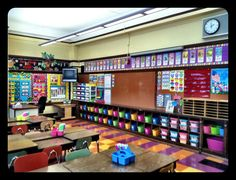 This classroom looks awesome! So many different pictures of all the little things in her room