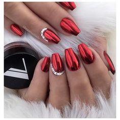 ✔️✔️ • • • Red chrome @valentinobeautypure #christmasnails#nails#coffinnails#nailart#MargaritasNailz#vetrogel#nailfashion#naildesign#nailswag#glitternails#glamnails#nailedit#nailcandy#nailprodigy#nailsofinstagram#nailaddict#nailstagram#chromenails#instagramnails#nailsoftheday#nailporn#nailpro#naildesigns#vetrousa#nailartist#naturalnails#teamvalentino#valentinobeautypure#dopenails#rednails