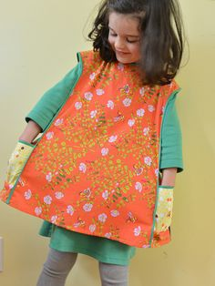 Art smock from Little Things to Sew.