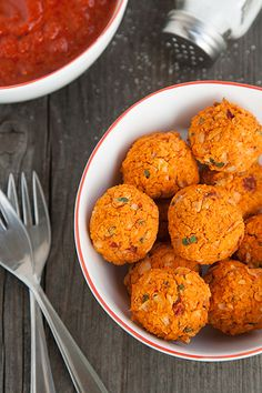 Ricetta Polpette vegetariane di fagioli cannellini e peperoni - Labna