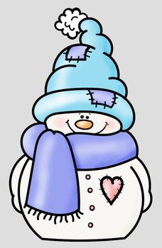 Snowmen 2 Clip Art Whimsy Workshop Teaching