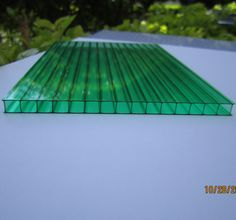 100% Lexan Material 10 Years Guarantee Polycarbonate Hollow Sheet Greenhouse(PC  Sheet Greenhouse)