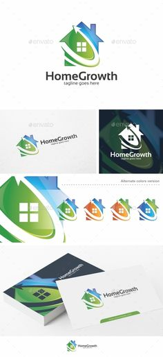Shopping Logo Logos, Logo templates and Fonts - home for sale template