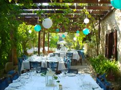 A real Cypriot environment for your wedding breakfast