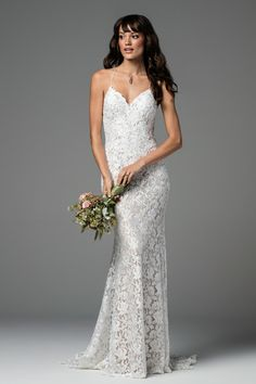 WTOO Aundin wedding gown #58120. Find this dress at Janene's Bridal Boutique located in Alameda, Ca. Contact us at (510)217-8076 or email us info@janenesbridal.com for more information.