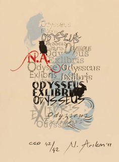 Art-exlibris.net - ex libris di Nurgül Arikan per Nurgül Arikan