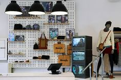 Bench Concept Store, Manchester, Retail Interior Design, Branding. #retail #merchandising #display #pegboard