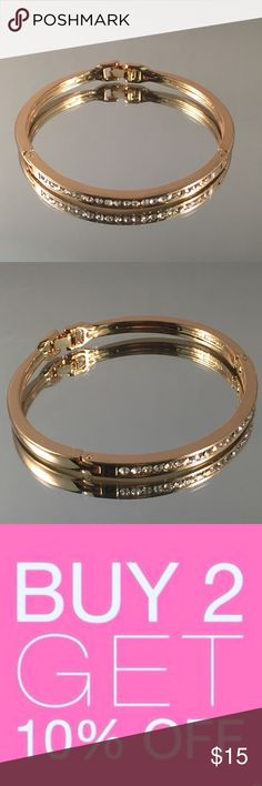 Gold Plated Bangle Bracelet Women's Gold Plated Bangle Bracelet.  Buy 2 items or more get 15% off! Jewelry Bracelets
