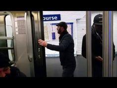 Paris Metrosunu Trolleyen Adanalı - http://www.aylakkarga.com/paris-metrosunu-trolleyen-adanali/