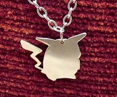 No matter what the occasion, the Pikachu necklace is the piece of jewelry you'll choose. The elegant necklace displays a custom cut nickel silver Pikachu pendant guaranteed to make your outfit pop. It's the ideal statement for the fashion forward Pokemon geek.