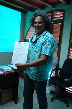 Factor 3: Profesores. Profesor David Lara recibe reconocimiento por su desempeño como docente  -2013 - Oficina de Dirección de programa #Unicartagena #ComunicaciónSocial