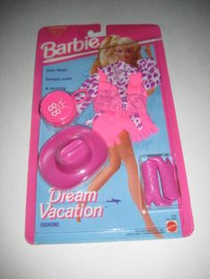 1993 Barbie Dream Vacation Cowgirl Outfit Fashion Set New | eBay