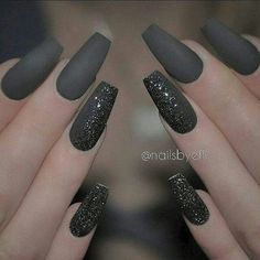 # GREY COFFIN NAILS
