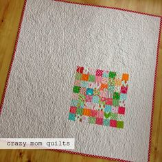 crazy mom quilts: elsa's quilt