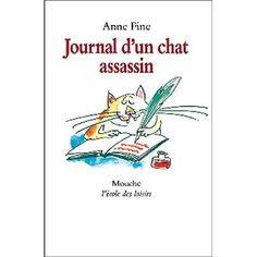 Anne Fine. Journal d'un chat assassin.